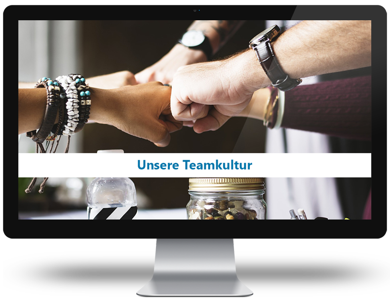Teamkultur-Screen